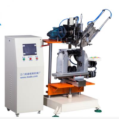 马桶刷制刷设备,四轴高速植毛机