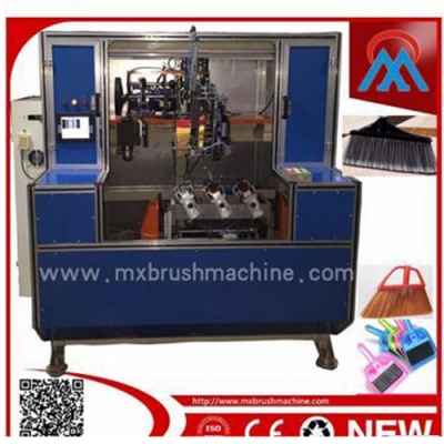 Fully automatic high-speed five-axis, Two-drill and one-plant broom machine